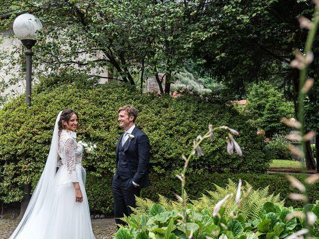 Il matrimonio di Davide e Serena a Domaso, Como 50