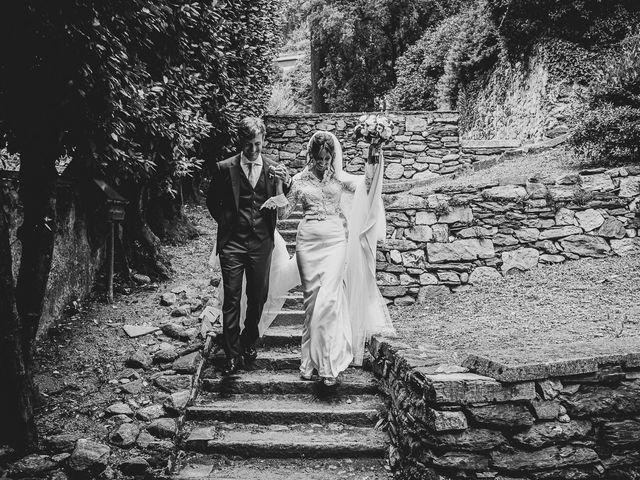 Il matrimonio di Davide e Serena a Domaso, Como 51