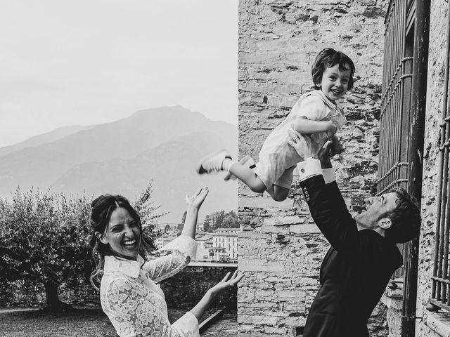Il matrimonio di Davide e Serena a Domaso, Como 56