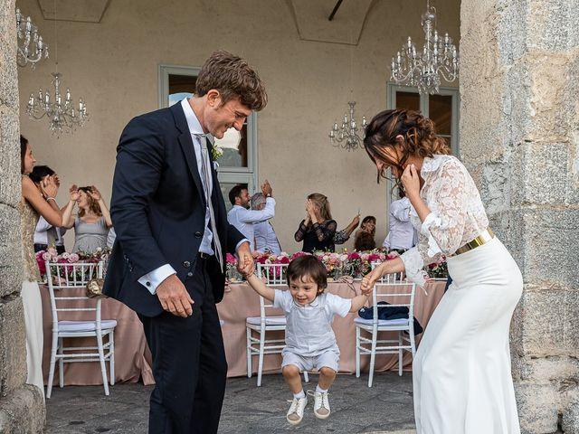 Il matrimonio di Davide e Serena a Domaso, Como 63