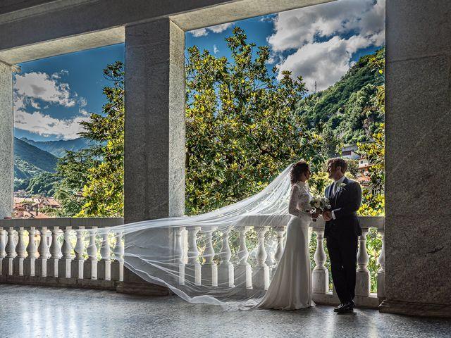 Il matrimonio di Davide e Serena a Domaso, Como 68