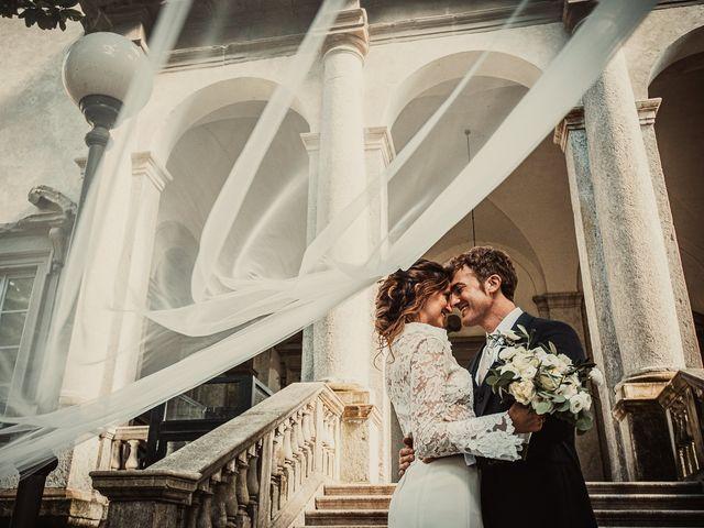 Il matrimonio di Davide e Serena a Domaso, Como 69