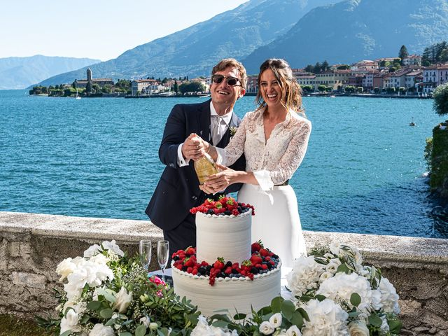Il matrimonio di Davide e Serena a Domaso, Como 75