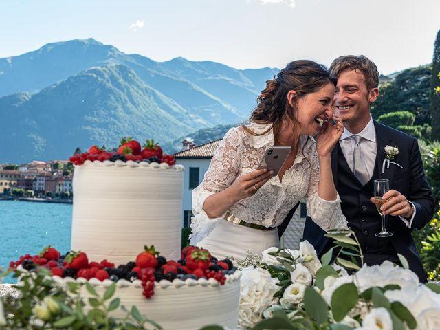 Il matrimonio di Davide e Serena a Domaso, Como 77