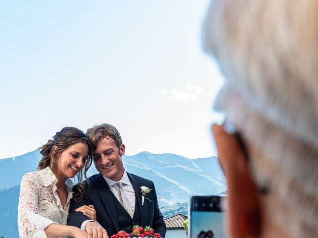 Il matrimonio di Davide e Serena a Domaso, Como 79
