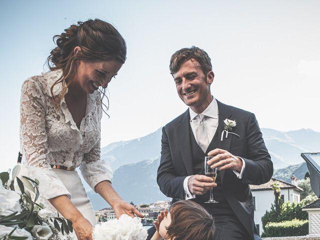 Il matrimonio di Davide e Serena a Domaso, Como 80