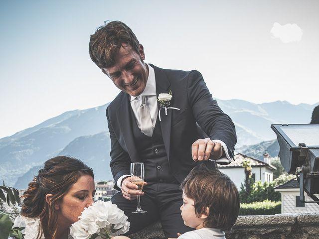 Il matrimonio di Davide e Serena a Domaso, Como 81