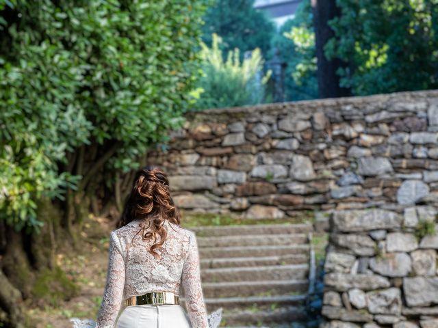 Il matrimonio di Davide e Serena a Domaso, Como 89