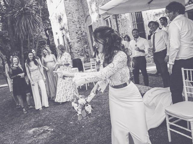 Il matrimonio di Davide e Serena a Domaso, Como 91