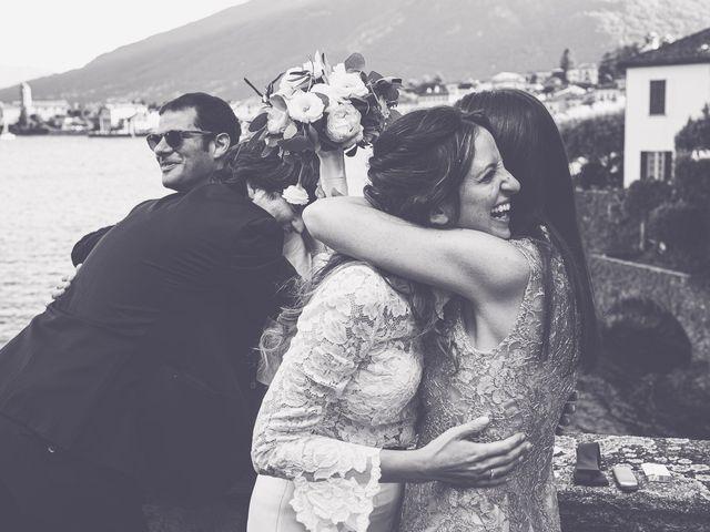 Il matrimonio di Davide e Serena a Domaso, Como 94