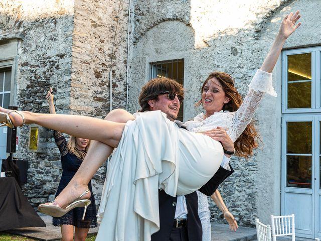 Il matrimonio di Davide e Serena a Domaso, Como 101