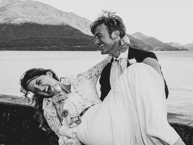 Il matrimonio di Davide e Serena a Domaso, Como 105