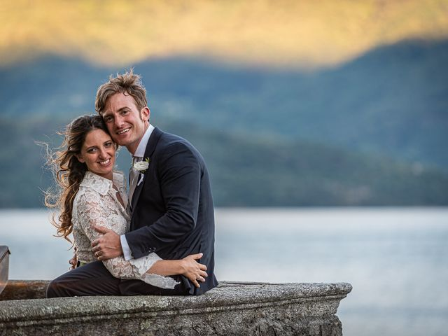 Il matrimonio di Davide e Serena a Domaso, Como 106