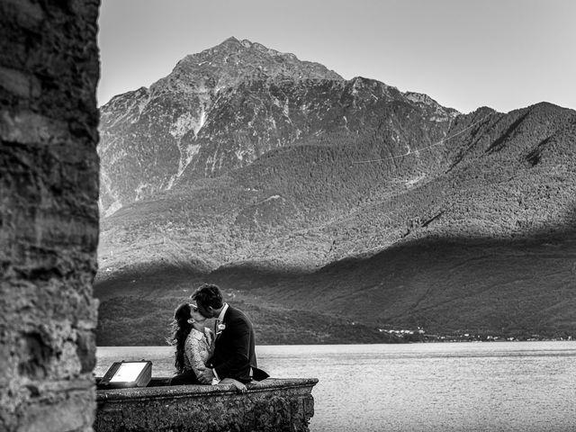 Il matrimonio di Davide e Serena a Domaso, Como 108