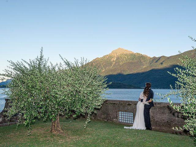 Il matrimonio di Davide e Serena a Domaso, Como 111