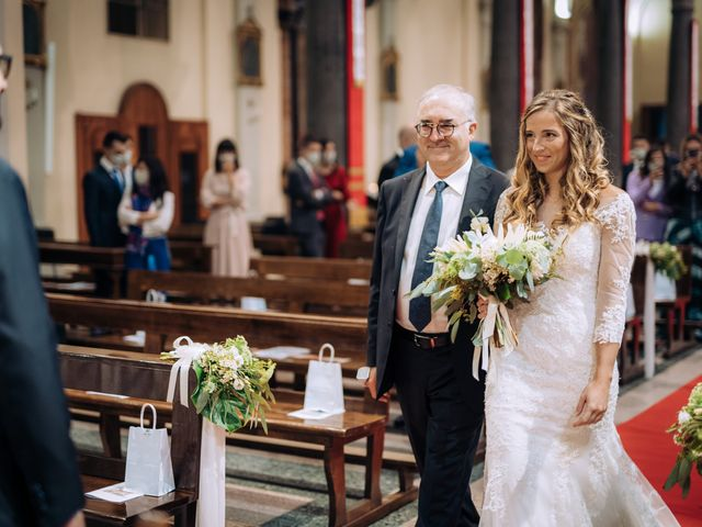 Il matrimonio di Andrea e Erika a Garbagnate Milanese, Milano 34
