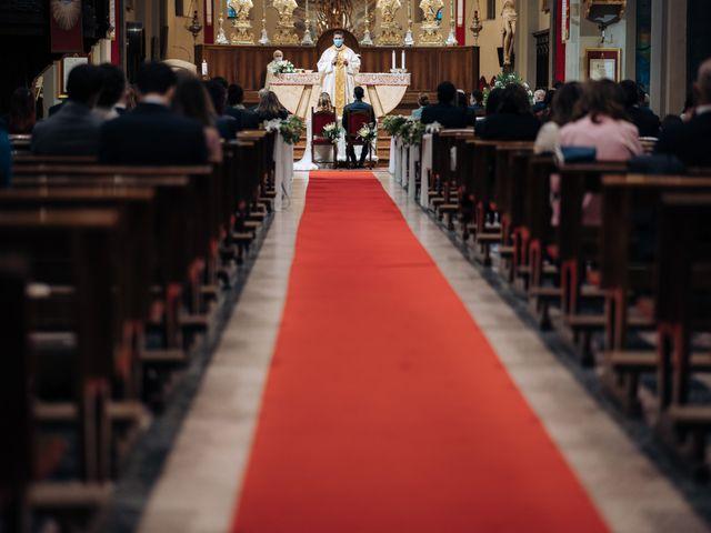 Il matrimonio di Andrea e Erika a Garbagnate Milanese, Milano 43
