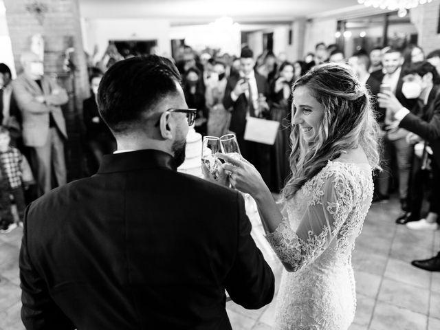 Il matrimonio di Andrea e Erika a Garbagnate Milanese, Milano 125