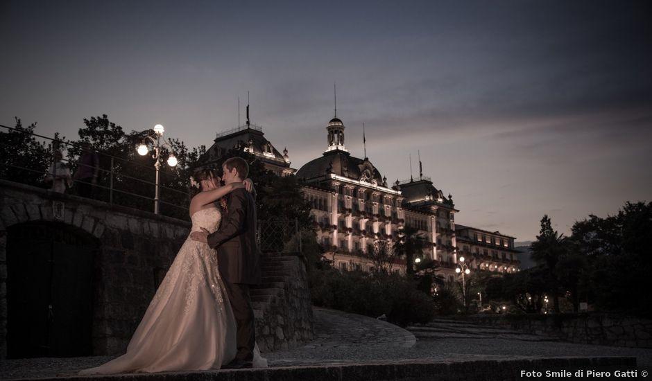 Il matrimonio di Luca e Sara a Stresa, Verbania