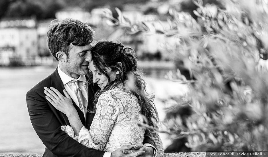 Il matrimonio di Davide e Serena a Domaso, Como
