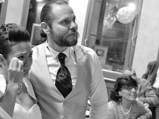 Le nozze di Sherryll e Antonio
