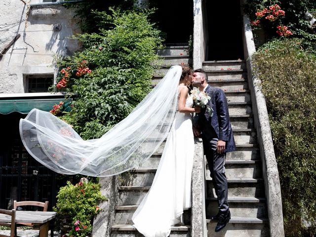 Le nozze di Giorgia e Massimiliano