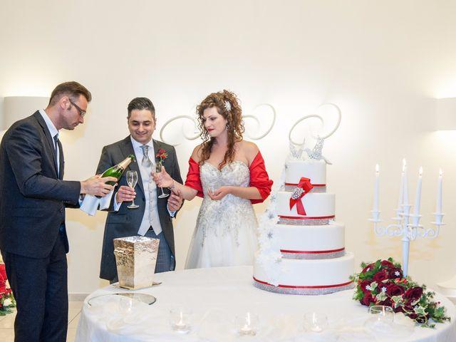 Il matrimonio di Tommaso e Teresa a Altavilla Irpina, Avellino 85