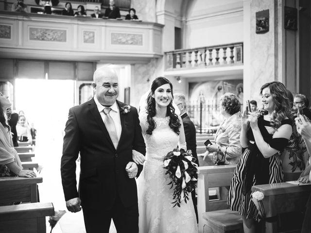 Il matrimonio di Demis e Luana a Torre d'Isola, Pavia 29