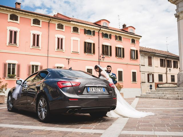 Il matrimonio di Demis e Luana a Torre d'Isola, Pavia 53