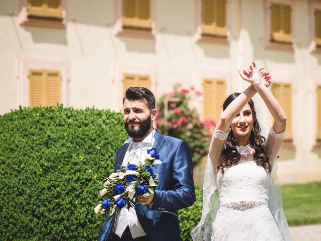Il matrimonio di Demis e Luana a Torre d'Isola, Pavia 58