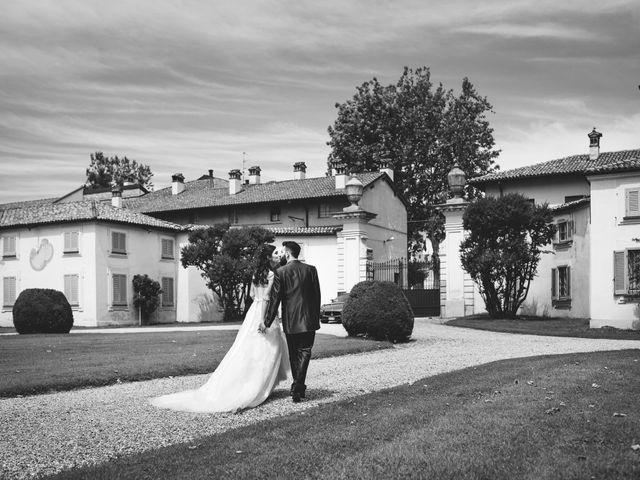 Il matrimonio di Demis e Luana a Torre d'Isola, Pavia 65
