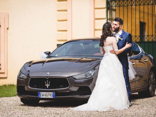 Il matrimonio di Demis e Luana a Torre d'Isola, Pavia 66