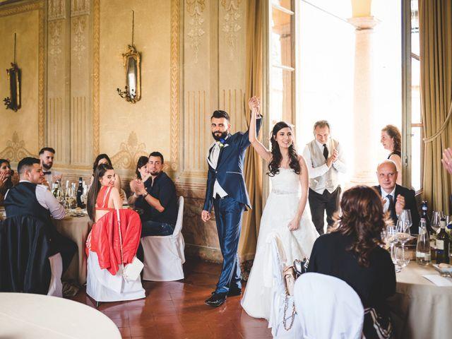 Il matrimonio di Demis e Luana a Torre d'Isola, Pavia 67