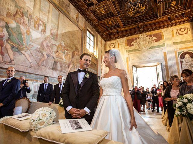 Il matrimonio di Michele e Fulvia a Roma, Roma 24