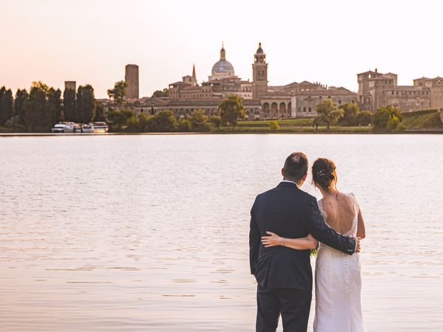 Il matrimonio di Simone e Gloria a Castellucchio, Mantova 1