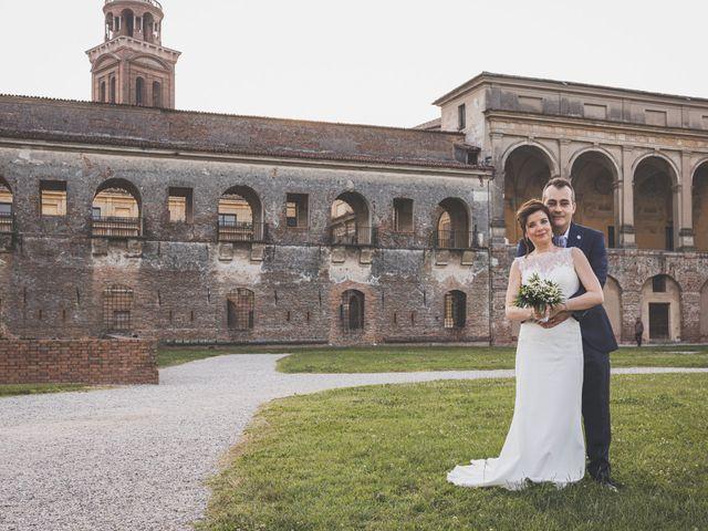 Il matrimonio di Simone e Gloria a Castellucchio, Mantova 9