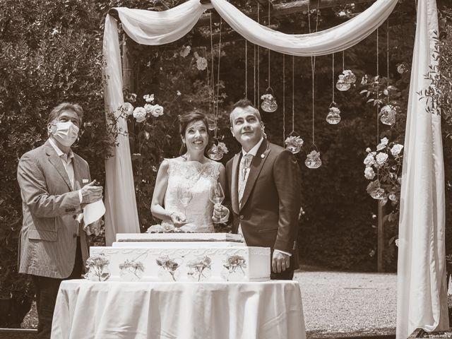 Il matrimonio di Simone e Gloria a Castellucchio, Mantova 34