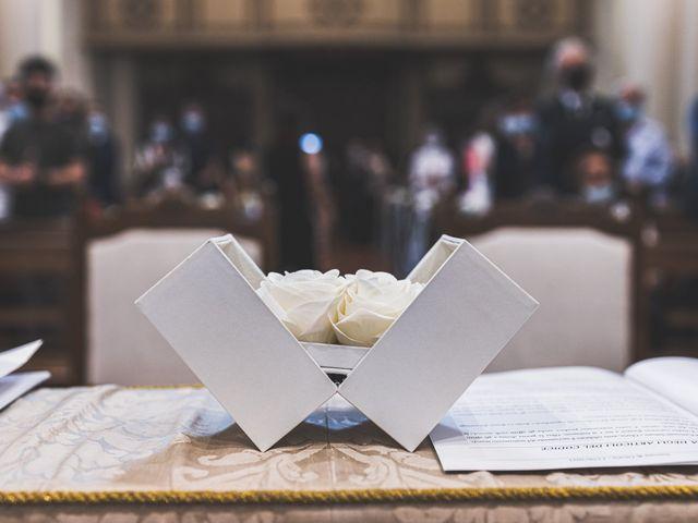 Il matrimonio di Simone e Gloria a Castellucchio, Mantova 45