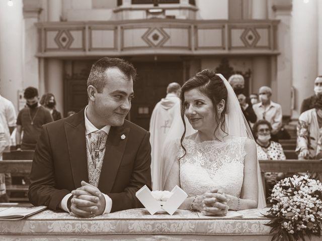 Il matrimonio di Simone e Gloria a Castellucchio, Mantova 48