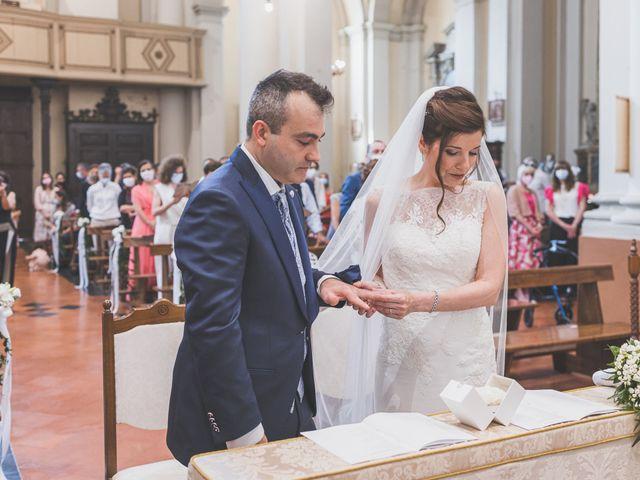 Il matrimonio di Simone e Gloria a Castellucchio, Mantova 49