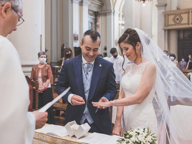 Il matrimonio di Simone e Gloria a Castellucchio, Mantova 50