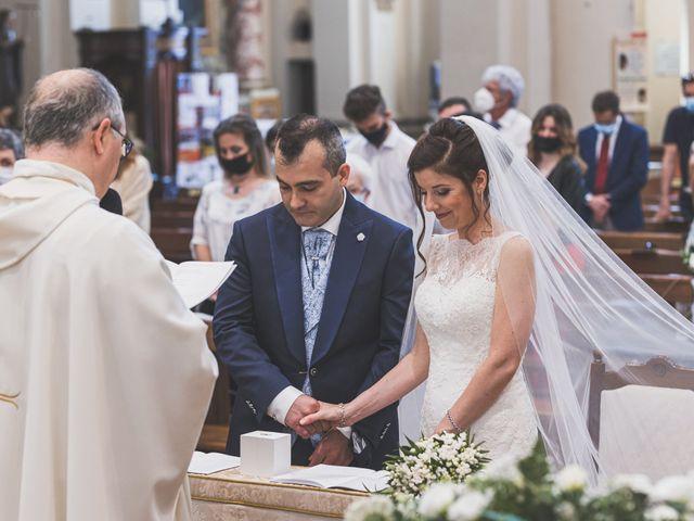 Il matrimonio di Simone e Gloria a Castellucchio, Mantova 51