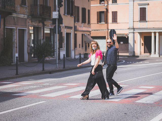 Il matrimonio di Simone e Gloria a Castellucchio, Mantova 57