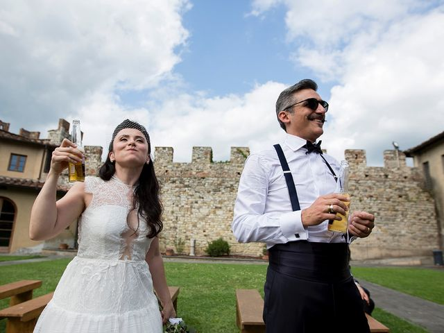 Il matrimonio di Alessio e Laura a Calenzano, Firenze 34