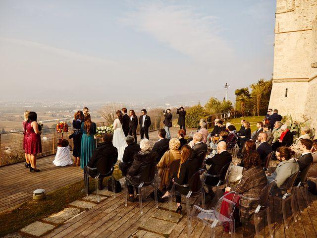 Il matrimonio di Davide e Alessandra a Cappella Maggiore, Treviso 11
