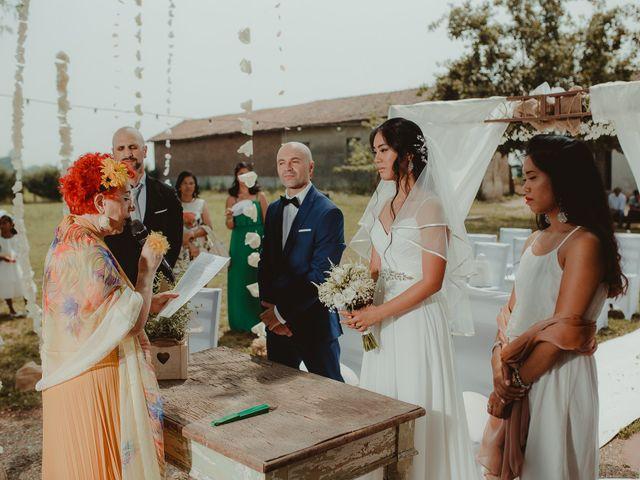 Il matrimonio di Marcello e Monique a Cassolnovo, Pavia 20