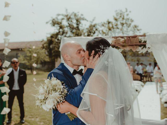 Il matrimonio di Marcello e Monique a Cassolnovo, Pavia 23