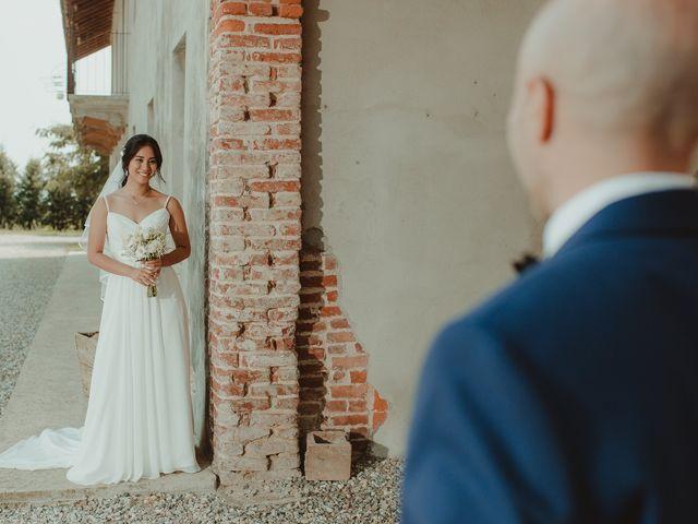 Il matrimonio di Marcello e Monique a Cassolnovo, Pavia 40