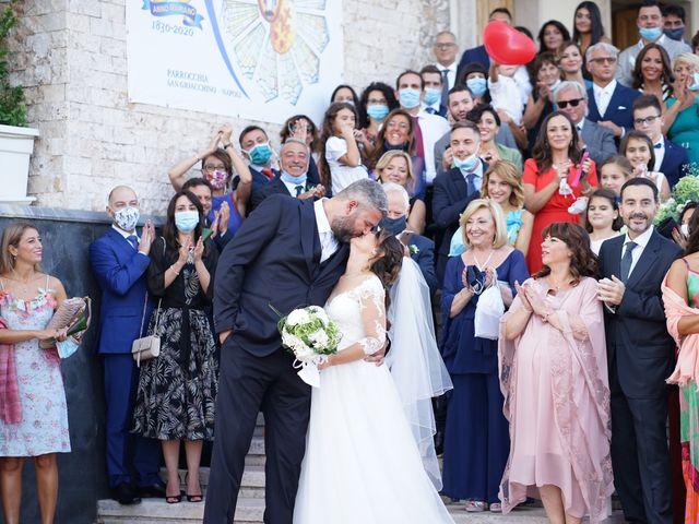 Il matrimonio di Nadia e Vittorio a Napoli, Napoli 36