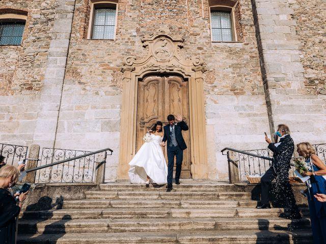 Il matrimonio di Andrea e Alessandra a Cantù, Como 43